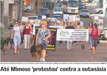 protesto em Santa Maria(RS)