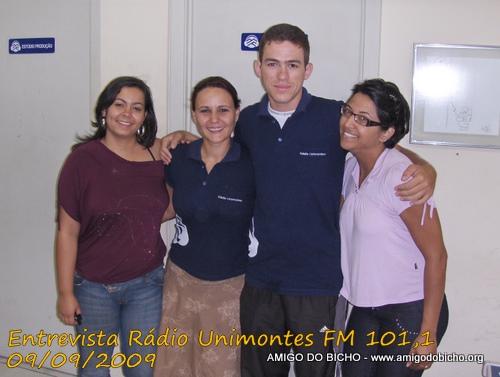 Equipe da Rádio Unimontes